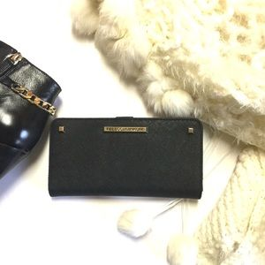 New NWT Rebecca Minkoff 'Ava' Leather Zip Wallet